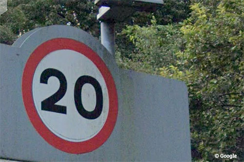 20mph-Borders Speed Limit