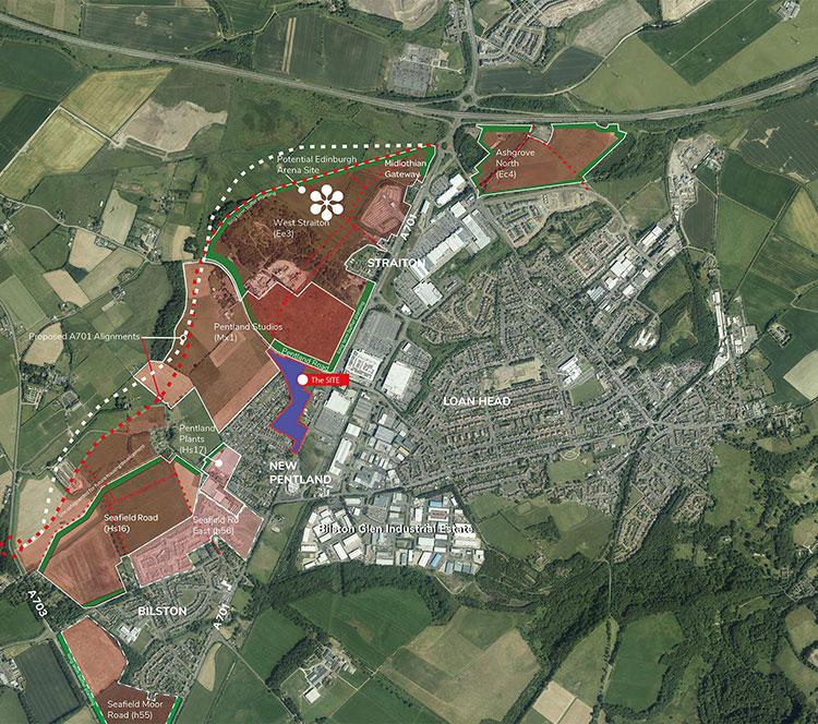 A701-Straiton-aerial-map