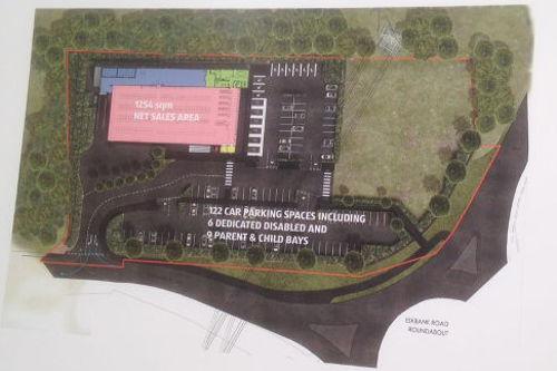 Aldi Plans at Mayshade Site
