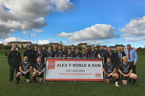 Lasswade Rugby Alex F Noble