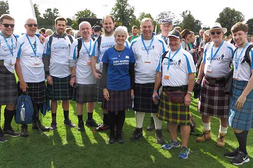 Noble effort on Kiltwalk