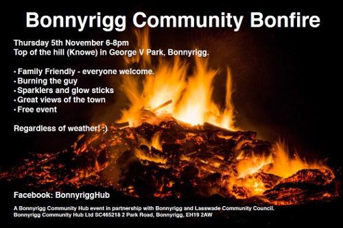 Bonnyrigg Community Bonfire Main