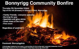 Bonnyrigg Community Bonfire