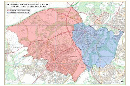 Bonnyrigg-Eskbank-Community-council- existing boundaries