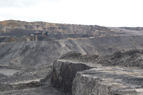What Cauldhall Opencast Mine would look like
