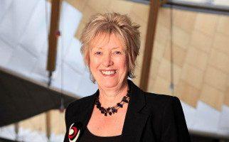 Christine Grahame MSP in Parliament Main