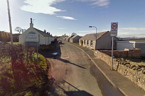 Cousland village, Midlothian