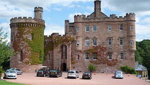 Places to see - Dalhousie Castle