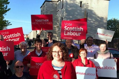 Danielle Rowley Scottish Labour Midlothian