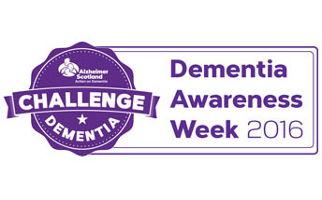 Dementia awareness week 2016