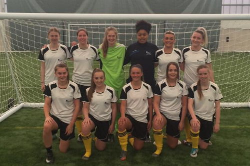 Edinburgh College Sports Champions Womens Football