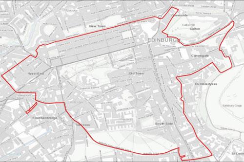 Edinburgh-LEZ-Boundary
