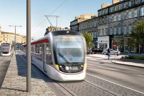 Edinburgh Tram Elm Row