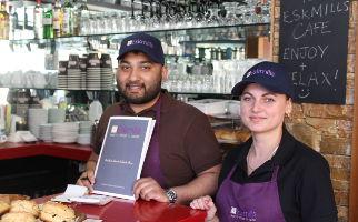 Eskmills Cafe Restaurant Dalkeith Open