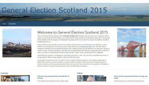 General Election Scotland 2015