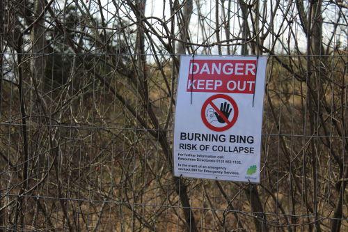 Gore Glen Bing Danger Sign