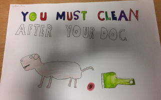 Gorebridge Primary Clean up After Your Dog