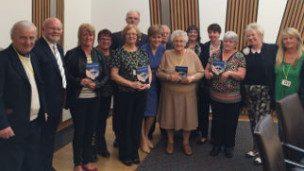 Grandparents meet Nicola Sturgeon Headline