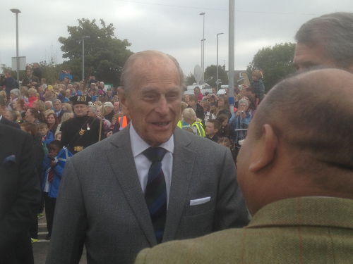 The Queen's visit to Newtongrange