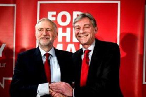 Jeremy Corbyn Richard Leonard Penicuik