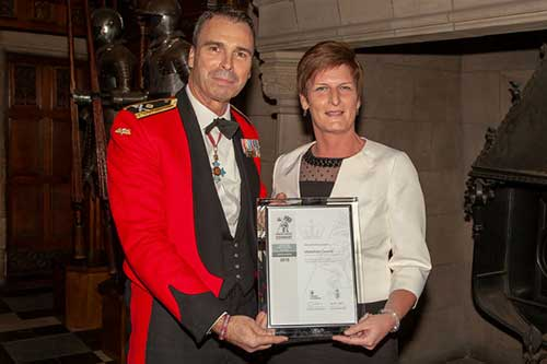 Midlothian Council receives top award for support for Armed Forces community