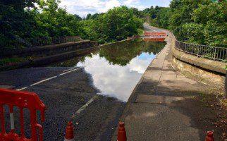Melville Road Bridge Damage 3