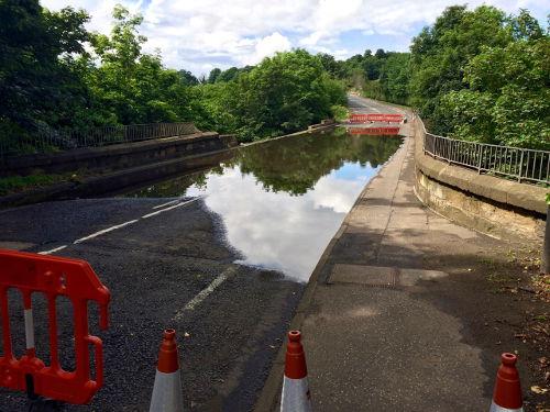 Melville Road Bridge Damage