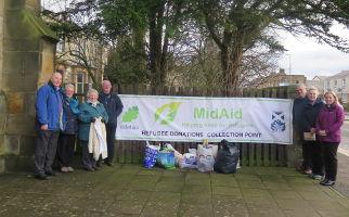 MidAid Midlothian Refugee Donations