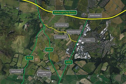 Midlothian-Council-A701-Relief-Road