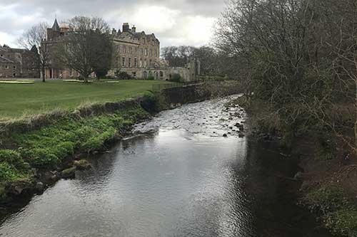 Midlothian-Council-Warning-Pollution-Sign-River-Esk