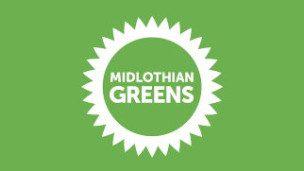 Midlothian Greens - green-on-white