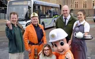 Midlothian Hop on Hop off bus