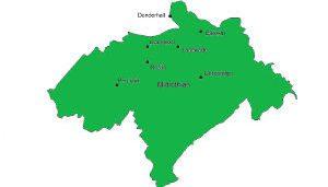Midlothian Map