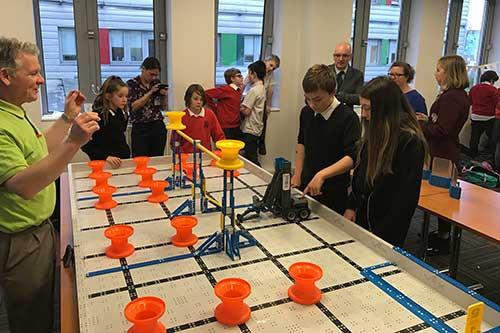 Newbattle High School robotics team VEX IQ 2019