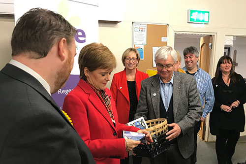 One Dalkeith Bid Nicola Sturgeon