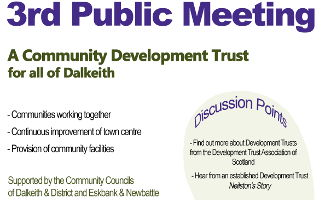 One Dalkeith Public Meeting Headline
