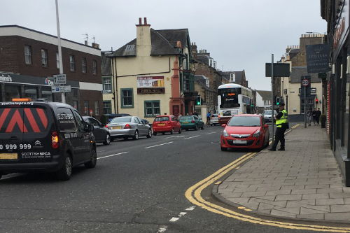 Parking tickets welcomed in Midlothian