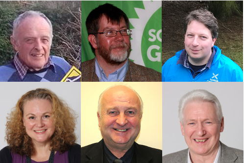 Penicuik Candidates Local Election 2017