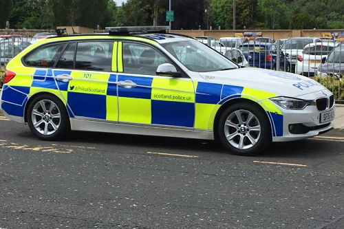 Police Scotland Patrol Car