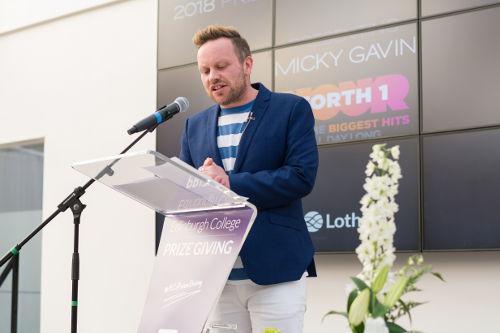 Radio Forth DJ Mickey Gavin