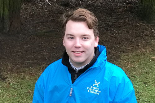 Scottish Conservatives Council Elections 2017 Kieran Munro