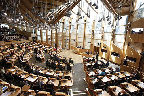 Scottish-Parliament-Debating-Chamber