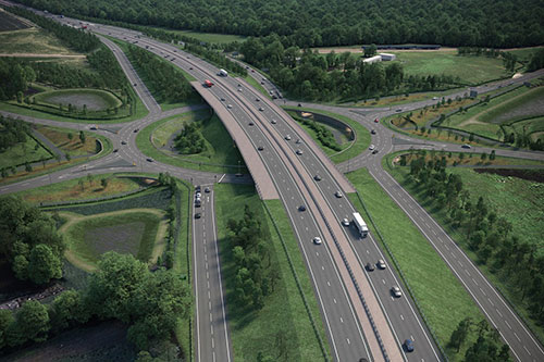Sheriffhall-roundabout-flyover-plans