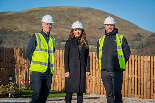 Taylor Wimpey and Melville Housing Association cement their relationship - Midlothian View