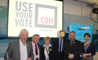 Use Your Vote Launch MPs