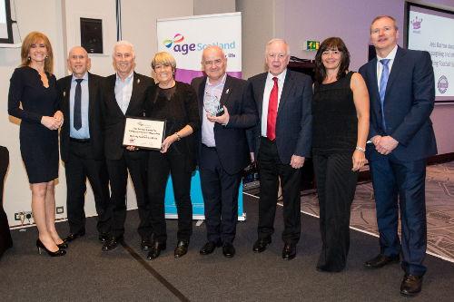 Walking Footbal Scotland Award