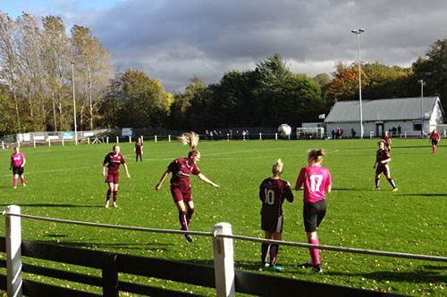 Women-football-Dalkeith-thistle-kings-park