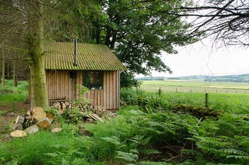 hutting