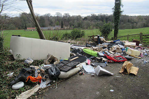 Melville Gate Fly -tipping
