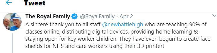 newbattle-Royal-Family-Tweet
